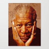 Free-man Canvas Print