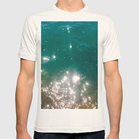 The Color Of The Sea Mens Fitted Tee Natural SMALL