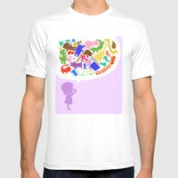 Toys Mens Fitted Tee White SMALL