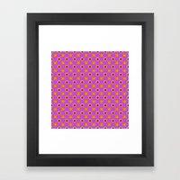Glo-Dots! Framed Art Print