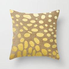 Katzengold Throw Pillow