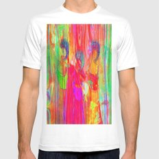 The three Graces  Mens Fitted Tee White SMALL