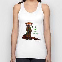 I Love My Bamboo (tablet… Unisex Tank Top