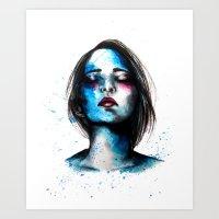 Sail // Fashion Illustra… Art Print