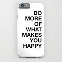 iPhone & iPod Case featuring HAPPY by Joannes