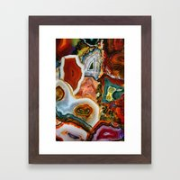 The Earth for the all-pervading Skies, the Moon and the Sun Framed Art Print