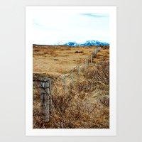 Icelandic View Art Print