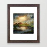 Calling The Sun XVIII Framed Art Print