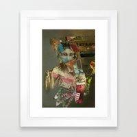 A Stronger Woman Framed Art Print
