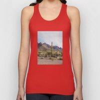 Arizona Cactus Unisex Tank Top