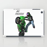 Stunt My Passion iPad Case