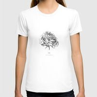 roses T-shirts featuring Roses  by Caitlin Workman