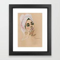 Trust Me Framed Art Print