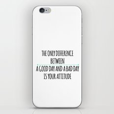 ATTITUDE iPhone & iPod Skin