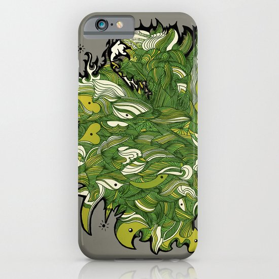Green Machine. iPhone & iPod Case