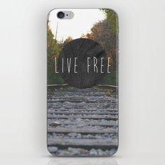 Live Free iPhone & iPod Skin