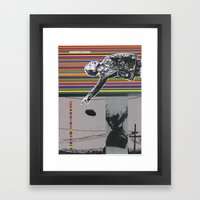 Collage #6 Framed Art Print