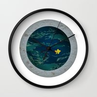 Through The Looking Glas… Wall Clock