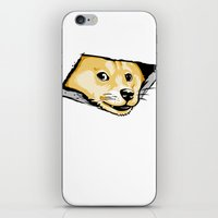 Ceiling Doge iPhone & iPod Skin