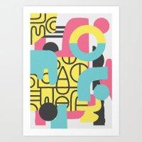 Collusion Art Print