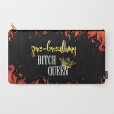Fire Breathing Bitch Queen Design Carry-All Pouch