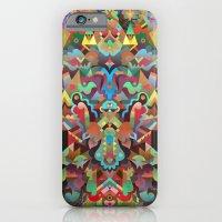 iPhone Cases featuring Dæmon [treatment 2] by C86   Matt Lyon