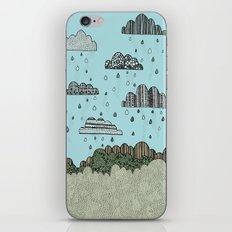 Rain Clouds iPhone & iPod Skin