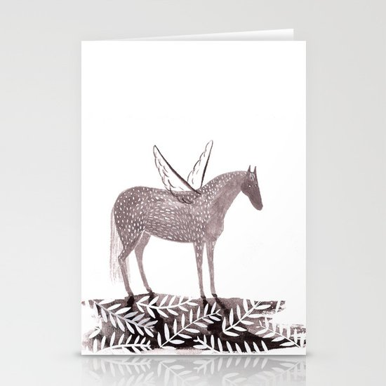 Pegasus Stationery Card