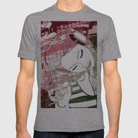 Beat Mens Fitted Tee Athletic Grey SMALL