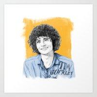Tim Buckley Art Print