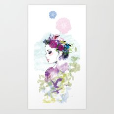 Champetre  Art Print