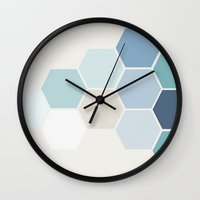 Hex Wall Clock