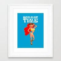 Summer Time! Framed Art Print