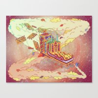 The Lotus Eater. Canvas Print