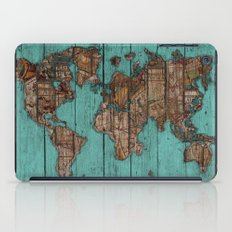Wood Map iPad Case