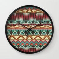 Native. Wall Clock