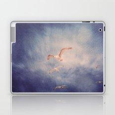 brighton seagulls 2 Laptop & iPad Skin
