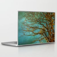 trees Laptop & iPad Skins featuring Magical by The Last Sparrow