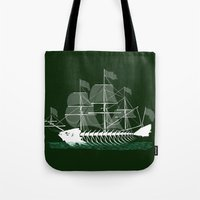 Cutter Fish Tote Bag