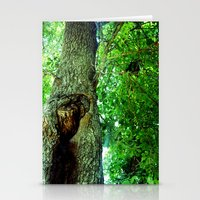 treehole2 Stationery Cards