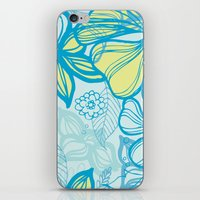 Oceanic Floral  iPhone & iPod Skin