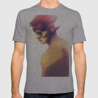 Kidflash Mens Fitted Tee Athletic Grey SMALL