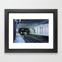 The Escape Framed Art Print