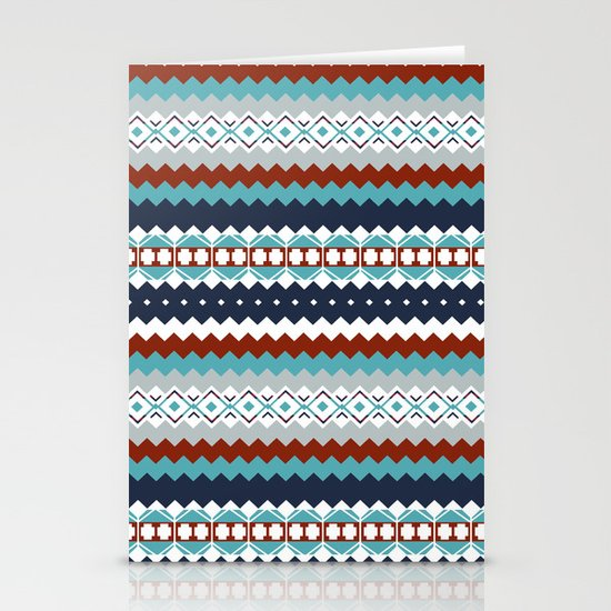 Navajo Pattern Stationery Card