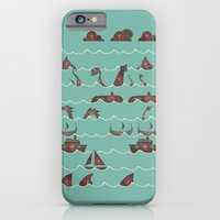 iPhone & iPod Case featuring Shooting Gallery by Hector Mansilla