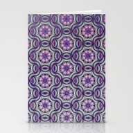 Purple Delight Stationery Cards