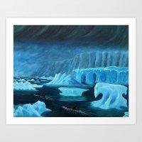 Visions of Antarctica Art Print
