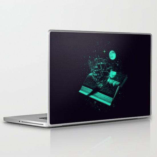 Crossing the Rough Sea of Knowledge   Laptop & iPad Skin