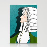 Baroque & Roll Stationery Cards