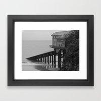 Tenby Lifeboat Station Framed Art Print